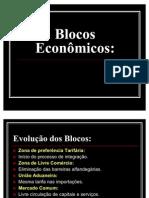 Globalização e os Blocos econômicos