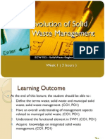 Evolution of Solid Waste Management