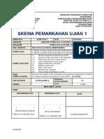 Skema Ujian 1
