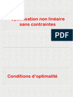 ch1 Conditions-optimalite