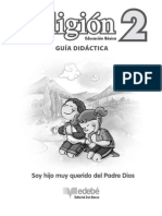 2 Guia Didactica Soy Hijo Muy Qurido Del Padre Dios