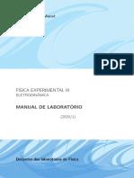 Manual de trabalho física experimental 3