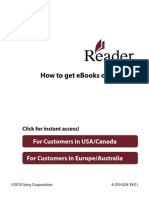 How to get eBooks on Reader