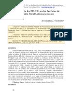 Influencia de los EE. UU. en los Servicios de  Extensión Rural Latinoamericanos