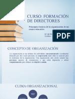Principios Básicos de La Organización de Un Centro Educativo_Pilar Rodriguez
