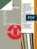 Láminas Comprimidas. na1100 na1092 na1002 na1040 na1000m na1060 na1085 tabla de ComPatiBilidad QuimiCa - laminas ComPRimidaS