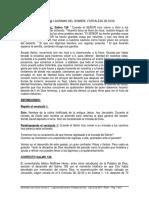 SERMON - LAGRIMAS DEL HOMBRE, FORTALEZA DE DIOS - Locales - Pasto
