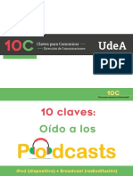 Claves 10C Oido a Los Podcasts