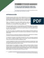 Estudio de Censopas en Espinar sobre metales pesados (2010)