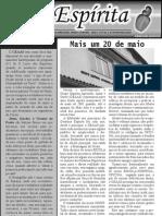Jornal Caju Espírita - 1ª Edição