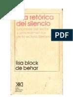 Una_Retórica_del_Silencio_Block_de_Behar