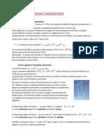 C11 Électrolyse