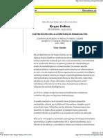 Tirso Canales sobre Roque Dalton (1935-1975)