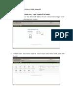 Manual Penggunaan Laman Web Joomla!