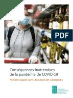 Conséquences inattendues de la pandémie de COVID-19