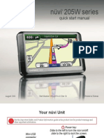 Nuvi 255W Quick Start Manual