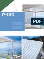 Pergola P-190 Brochure/PUIGMETAL®