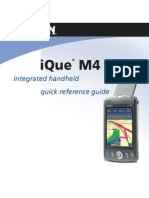iQue M4 Quick Reference Guide