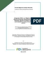 A Agenda 2030 e os Objetivos de Desenvolvimento Sustentável nas Grandes Opções do Plano 2017 uma avaliação no contexto de políticas públicas