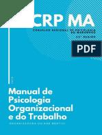 Daiane R. C. Bentivi (Org.) - Manual de Psicologia Organizacional e Do Trabalho - CRP, 2019