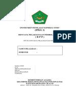 Instrumen Supervisi Penilaian Kemampuan Menyusun RPP