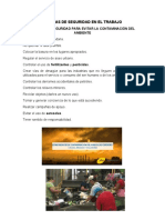 MEDIDAS DE SEGURIDAD EN EL TRABAJO