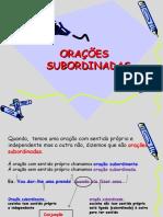 Oracoes subordinadas