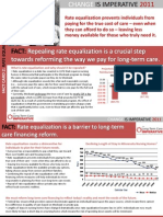 LTCI 2011 Fact Card 2 - Rate Equalization