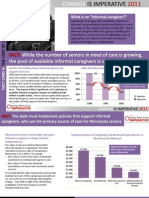 LTCI 2011 Fact Card 6 - Cost of Care Giving