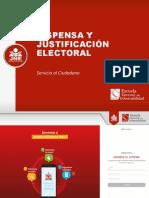 PPT Dispensa y Justificación - SC