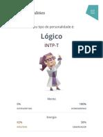 "Personalidade ""Lógico"" (INTP) _ 16Personalities"