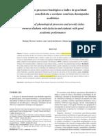 Processos Fonologicos e Indice de Gravide de DISLEXIA Em Escolares No BR