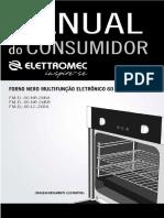 Manual Forno Elétrico Elettromec Luce 60