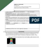 Instrumentos #2 Evaluación Manipulación de Alimentos