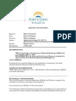 Fort St. John - 2020 Statement of Financial Information (SOFI)