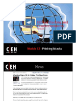 CEHv6.1 Module 12 Phishing Attacks