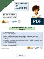 SESIÓN DE TRABAJO EQUIPO DIRECTIVO 09D07 - 06-05-2021