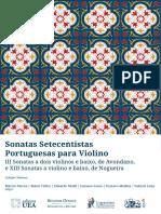 Série Clinamen Vol.1. Sonatas Setecentistas Portuguesas (1)