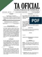 Gaceta Oficial Extraordinaria N°6.623