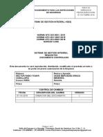 PGM-P-02 PROCEDIMIENTO DE INSPECCIONES