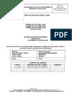 PGM-PR-01 PROCEDIMIENTO DE MANTENIMIENTO VEHICULAR