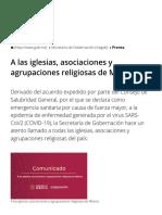 A Las Iglesias, Asociaciones y Agrupaciones Religiosas de México _ Secretaría de Gobernación _ Gobierno _ Gob.mx