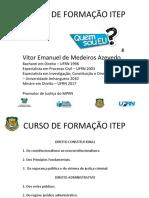 Direito Constitucional e Administrativo - 1 PPT