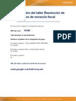 ACTIVIDAD 2 REVISORIA FISCAL