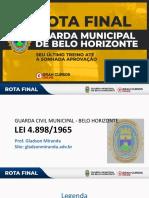 Rota Final - QUESTÕES E TEORIA - Lei 4898_65 - Guarda Municipal de BH - Gladson Miranda