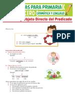 El-Núcleo-y-Objeto-Directo-del-Predicado-para-Tercer-Grado-de-Primaria