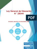 Ley General 28044