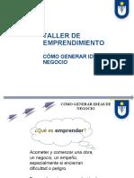 Actividad de Aprendizaje Emprendimiento Ideas de Negocio