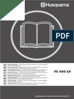 Manual de Instrucciones FS 400