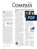 The Compass – March 2011 from Knights of Columbus Council 697